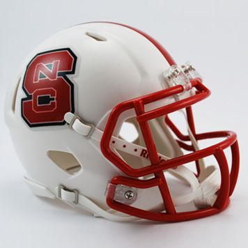 Riddell North Carolina State Wolfpack Revolution Speed Mini Replica Helmet
