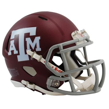Riddell Texas A&M Aggies Revolution Speed Mini Replica Helmet