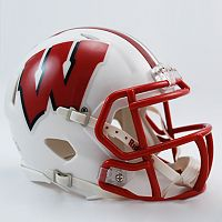 Riddell Wisconsin Badgers Revolution Speed Mini Replica Helmet