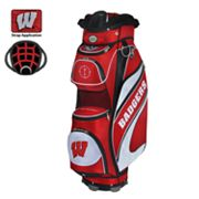 Team Effort Wisconsin Badgers Bucket Cooler Cart Golf Bag