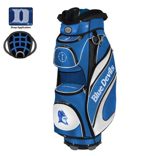 Team Effort Duke Blue Devils Bucket Cooler Cart Golf Bag