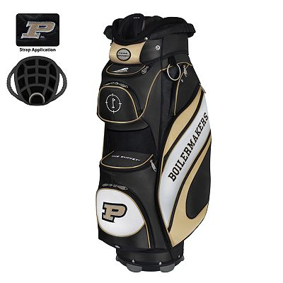 Team Effort Purdue Boilermakers Bucket Cooler Cart Golf Bag