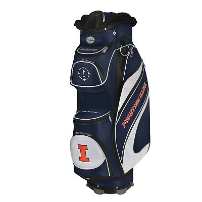 Team Effort Illinois Fighting Illini Bucket Cooler Cart Golf Bag