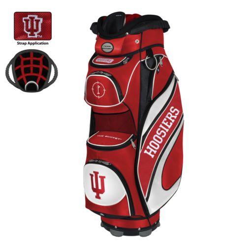 Team Effort Indiana Hoosiers Bucket Cooler Cart Golf Bag