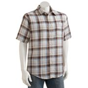 Croft and Barrow Plaid Casual Button-Down Shirt