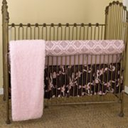 Cotton Tale 4-pc. Cupcake Crib Rail Cover Crib Set