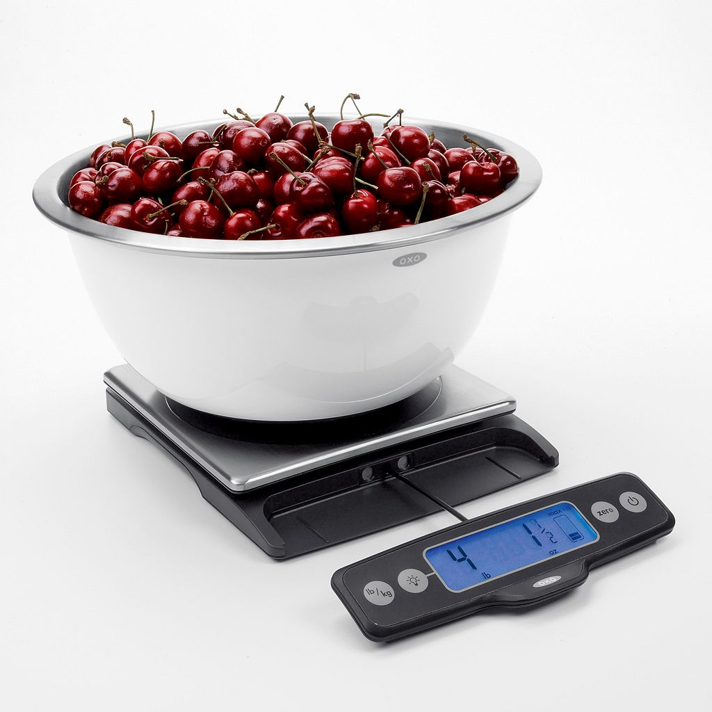 OXO Stainless Steel Food Scale