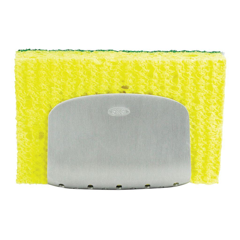 OXO SteeL Suction Sponge Holder