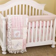 Cotton Tale 4-pc. Heaven Sent Crib Rail Cover Crib Set
