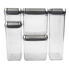 OXO SteeL POP 5 pc Storage Container Set