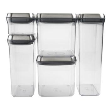 OXO SteeL POP 5-pc. Storage Container Set