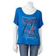 Hang Ten Venice Beach Dolman Graphic Tee - Juniors