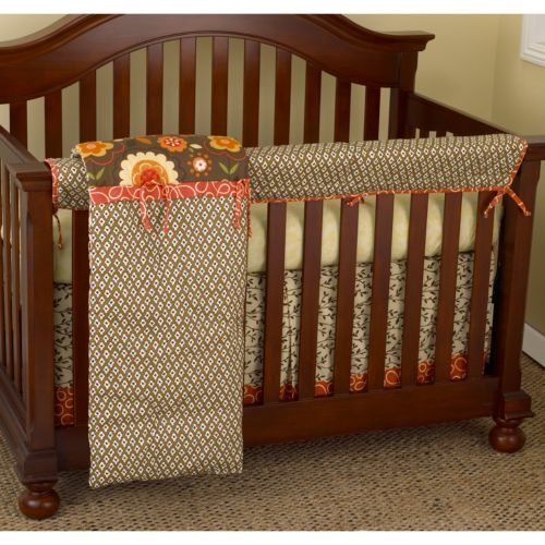 Cotton Tale 4-pc. Peggy Sue Crib Rail Cover Crib Set