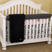 Cotton Tale 4-pc. Girly Crib Rail Cover Crib Set