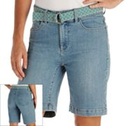 Lee Kelby Slimming Denim Bermuda Shorts