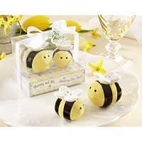 Kate Aspen Sweet As Can Bee Salt & Pepper Shakers