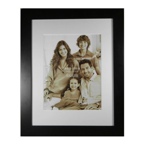 SONOMA life + style® Matted 10 x 13 Frame
