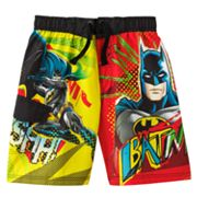 Batman Swim Trunks - Boys 4-7