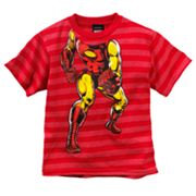 Iron Man Ironstance Striped Tee - Boys 4-7
