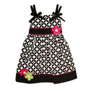 Blueberi Boulevard Patterned Sundress - Baby