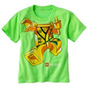 LEGO Ninjago Flying Kick Neon Tee - Boys 4-7