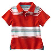 SONOMA life + style Striped Slubbed Polo - Toddler