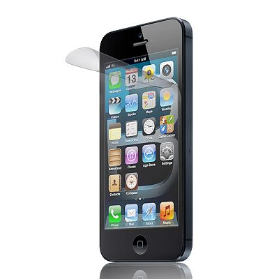 Luardi UV 2-pk. iPhone 5 Screen and Back Protectors