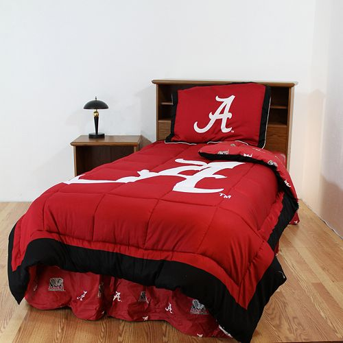 Alabama Crimson Tide Reversible Comforter Set - Full