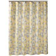 Apt. 9 Optica Geometric Fabric Shower Curtain