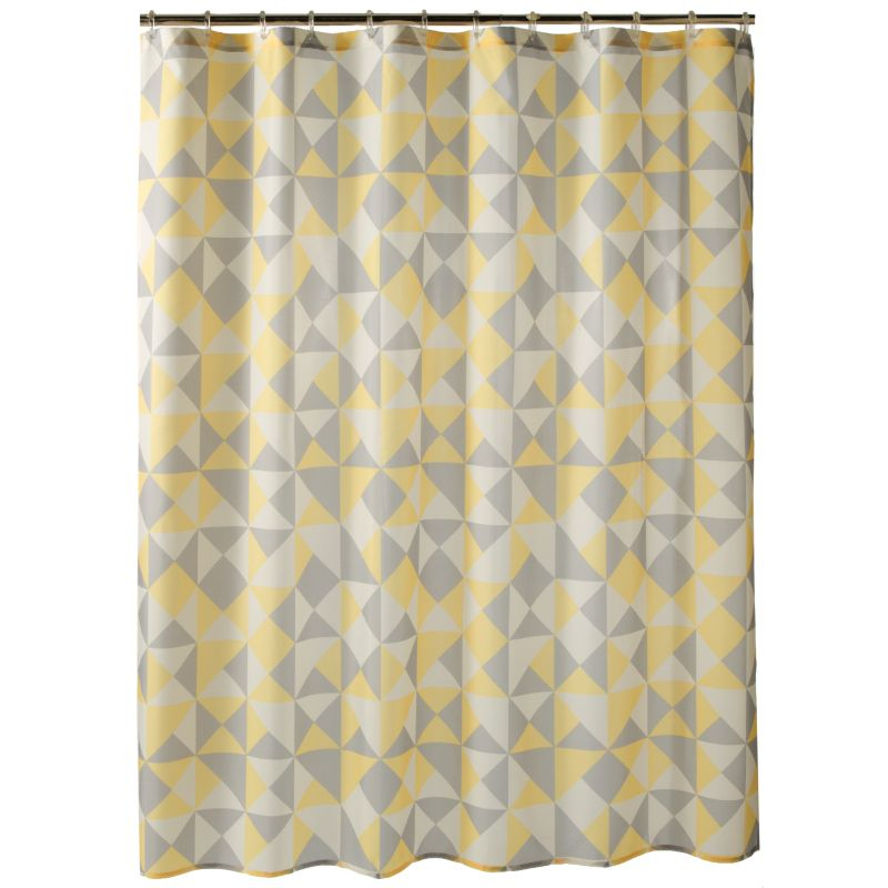 Geometric Shower Curtain   Kohl's