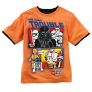 LEGO Star Wars Mock-Layer Here Comes Trouble Tee - Boys 4-7