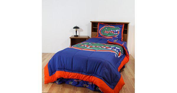 Florida Gators Reversible Comforter Set Twin