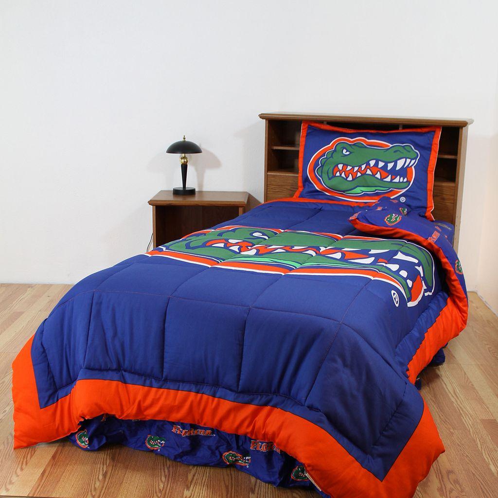 Florida Gators Reversible Comforter Set - Queen