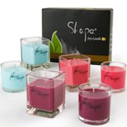 Wen's Phoenix Shapa 6-pc. Apple Dream, Rose Flower and Ocean Breeze Soy Filled Candle Set