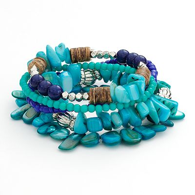 SONOMA life + style Bead Stretch Bracelet Set
