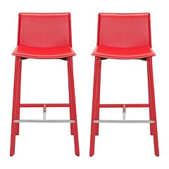 Safavieh Janet 2 pc Bar Stool Set