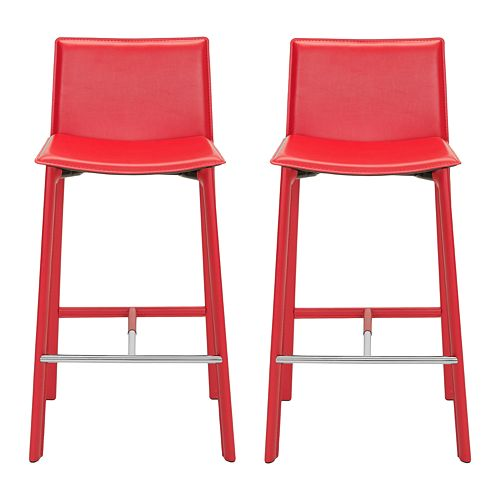 Safavieh Janet 2-pc. Bar Stool Set