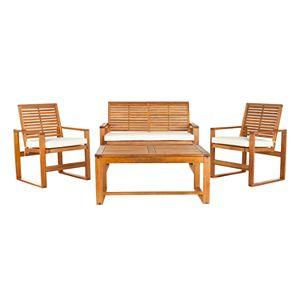 Safavieh Ozark 4-pc. Patio Set