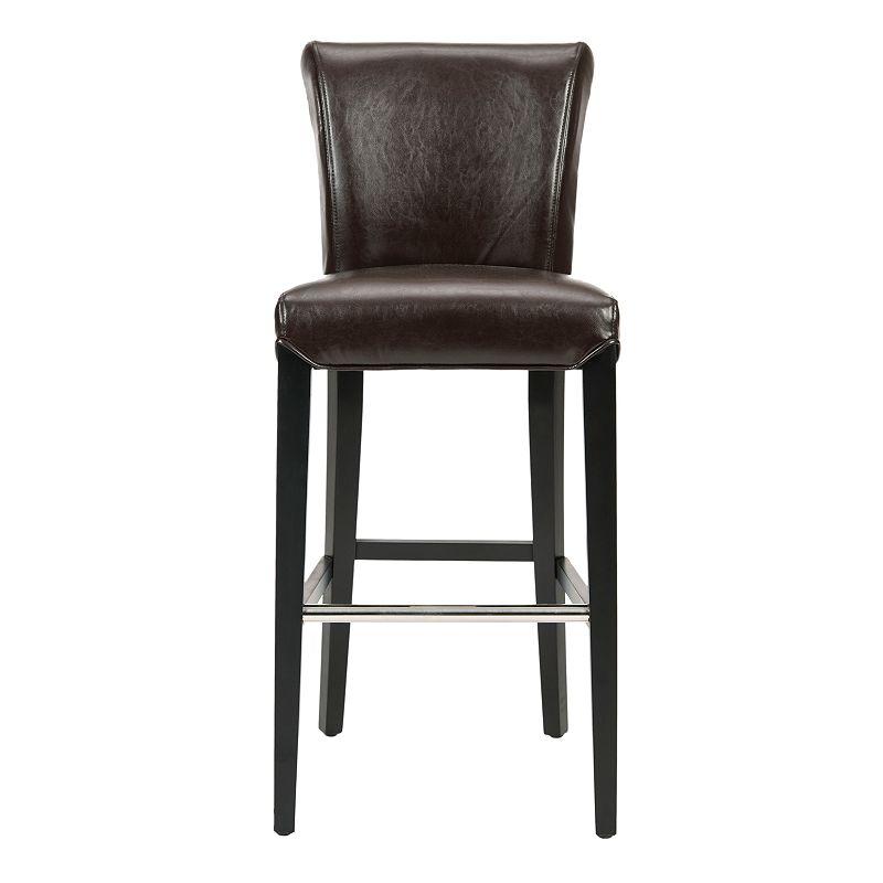 Safavieh Seth 30-in. Bar Stool, Brown, Furniture