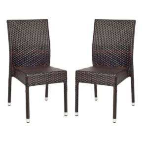 Safavieh 2-pc. Newbury Wicker Chair Set