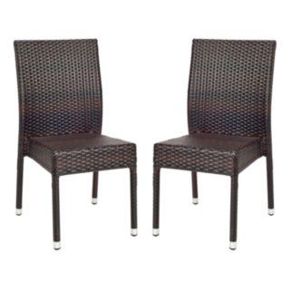 Safavieh 2-pc. Newbury Wicker Chair Set