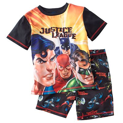 Justice League 2-pc. Pajama Set - Boys 8-20