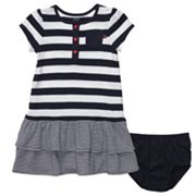 Carter's Striped Tiered Dress - Baby