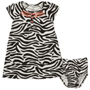 Carter's Zebra-Striped Dress - Baby