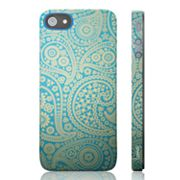 Luardi Paisley Blue Snap-On iPhone 5 Case