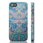 Luardi Blue Flowers Snap-On iPhone 5 Case