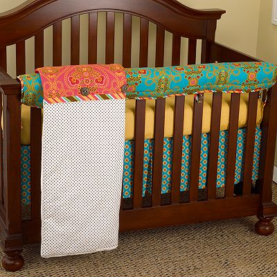 Cotton Tale Gypsy 4-pc. Crib Rail Cover Crib Set