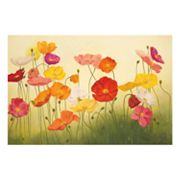 Sunlit Poppies Wall Art