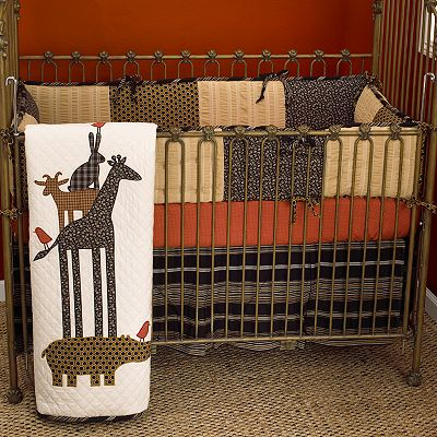 Cotton Tale 4-pc. Animal Stackers Crib Set