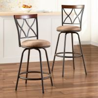 SONOMA life + style® 2-pk. Shelton Adjustable Swivel Stool Set